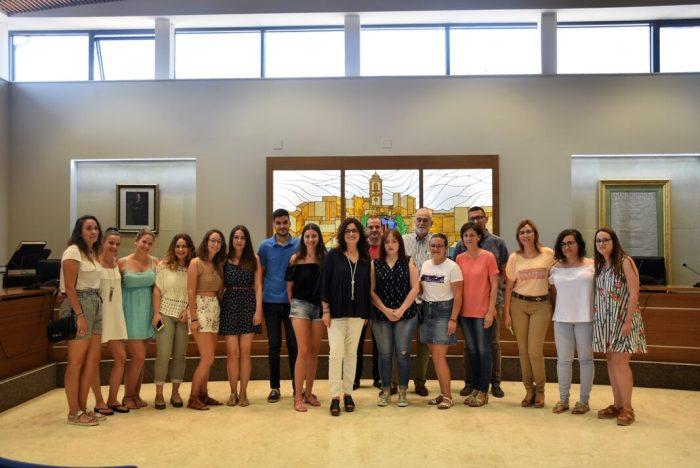 43 alumnes faran les pràctiques formatives durant l'estiu a l'Ajuntament de Carlet
