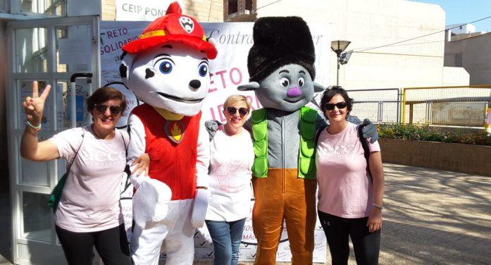 ElCEIPPontetd'Almussafes recapta 250 euros per a la lluita contra el càncer en el 'Repte en el meu col·le'