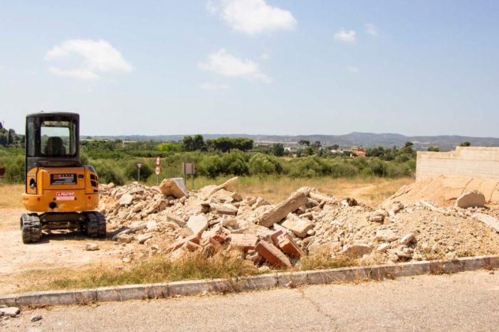 Picassent renova les voreres del cementeri amb un pressupost de 24.000 euros