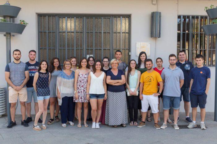 16 joves de Picassent comencen les pràctiques en els diferents departaments municipals