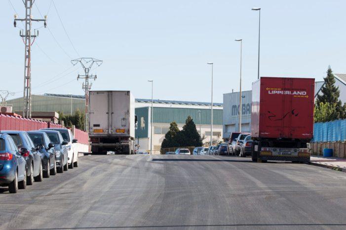 Picassent rep vora 1 milió d'euros de l'IVACE per a millorar els polígons industrials