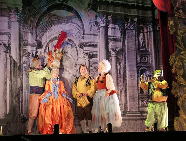 'Les Arts Volant' aborda el final de la gira 2018 a Rafelguaraf, L'Olleria, Gilet i Carlet