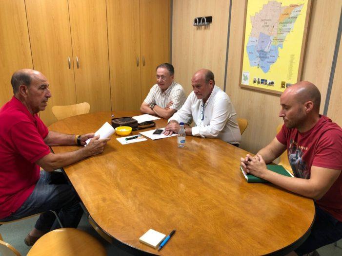 L'Ajuntament d'Algemesí subvenciona una part del tractament agrícola urgent per a pal·liar els danys en els arbres fruiters afectats per la pedregada en col·laboració amb Copal i Tractaments Agrícoles Machí