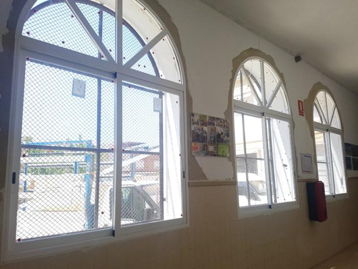 Finalitzen les obres per millorar l'eficàcia energètica al centre educatiu Federico García Lorca