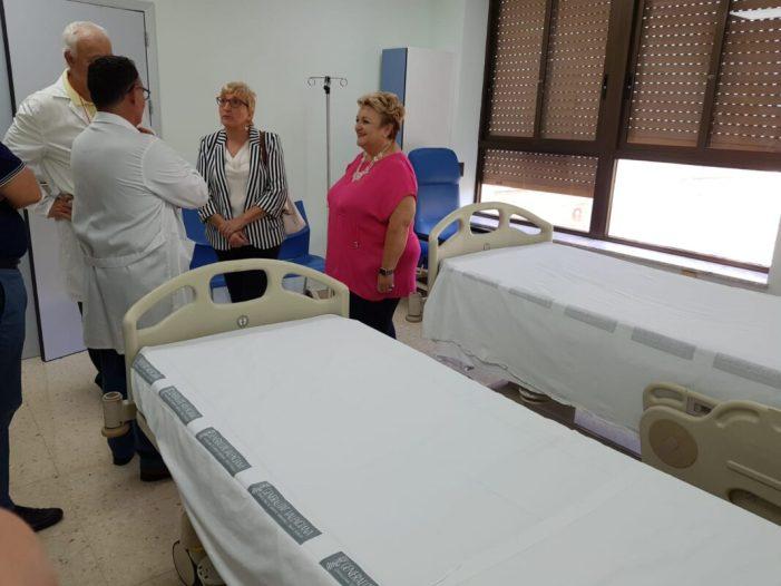 Barceló: 'Amb la remodelació de les sales de Cirurgia i Medicina Interna del General de València s'eliminen les habitacions cuádruples i triples'
