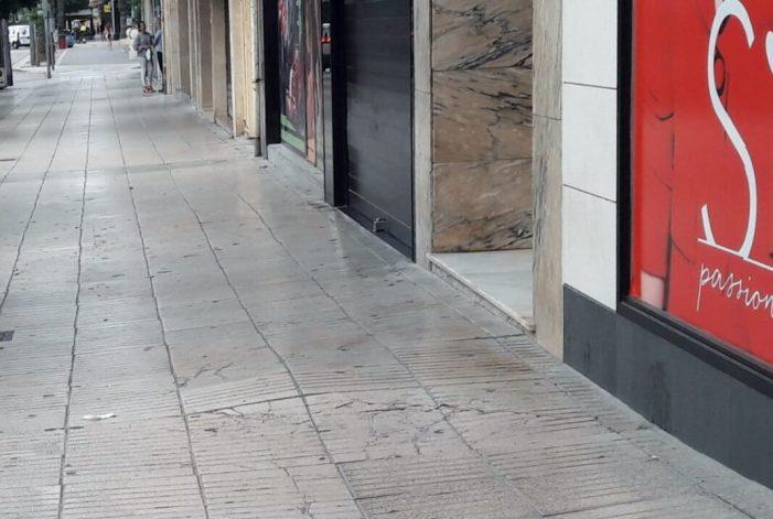 Ciutadans critica es gasten 50.000 euros en un sistema d'aparcament innecessari i deixen les voreres sense arreglar