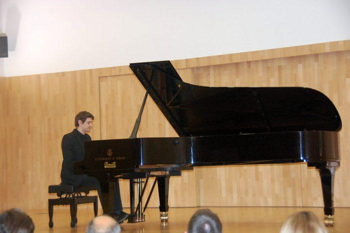 Carlet convoca la XXIII edició del Concurs Nacional de Piano