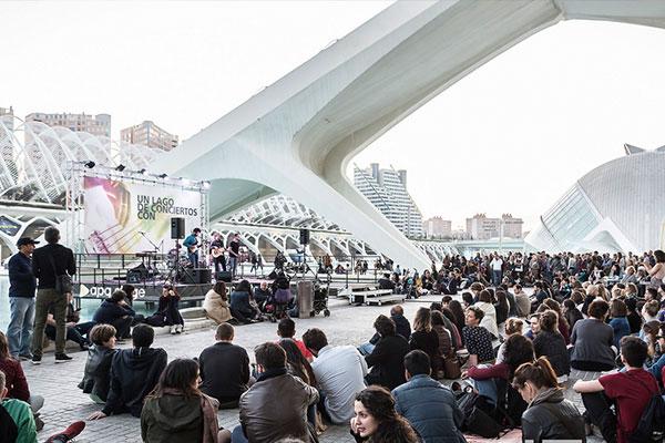 'Un Llac de Concerts' torna a la Ciutat de les Arts i les Ciències