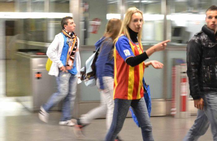 Metrovalencia ofereix el dia 26 serveis especials després del partit entre València CF i Celta de Vigo