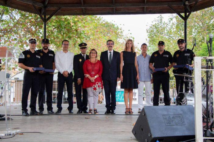 Picassent homenatja a cinc membres del cos de la Policia Local