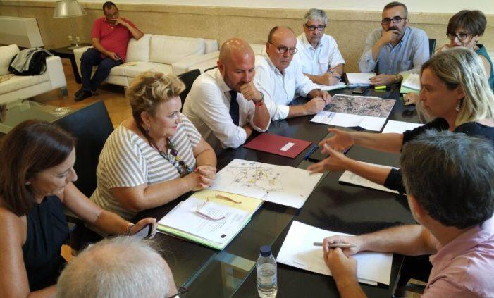 Diputació i Generalitat continuen treballant per a millorar l'espai sociosanitari de Bétera