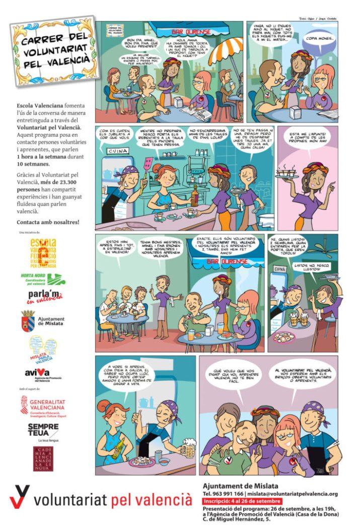 Mislata celebra el Mes del Valencià amb obres de teatre, exposicions i tallers municipals de voluntariat lingüístic