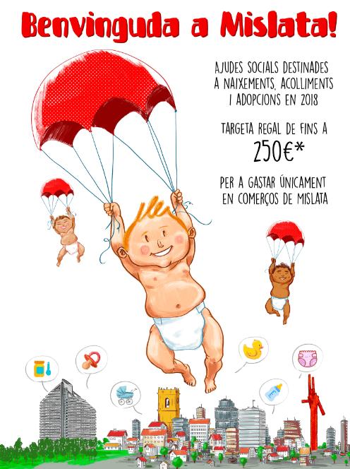 Mislata presenta una nova ajuda social per a bebès i adopcions