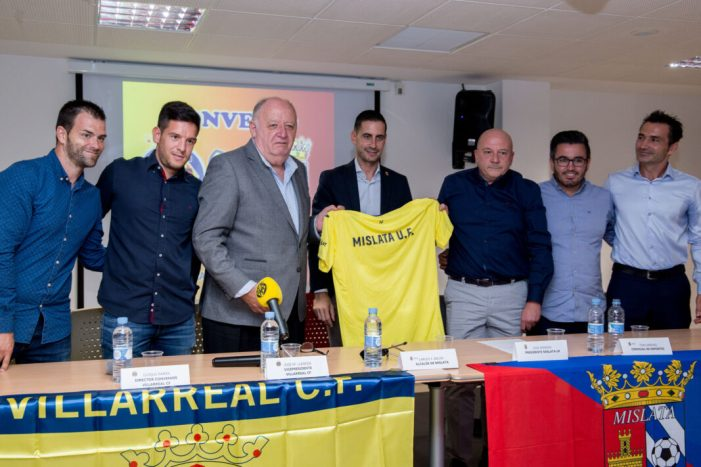 El Mislata UF i el Vila-real CF s'uneixen per a millorar la formació esportiva dels nostres futbolistes