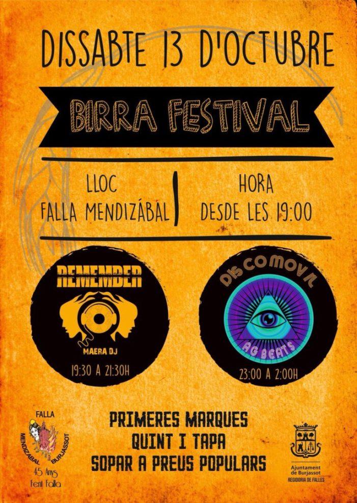 Burjassot: La Falla Mendizábal programa un dissabte ple d'activitat amb la seua V Concentració de Clàssics Alpine-Renault i el seu Birra Festival