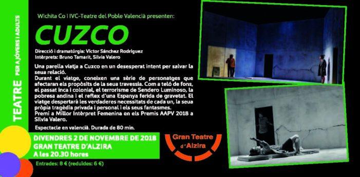 """""""Cuzco"""" al Gran Teatre d'Alzira"""