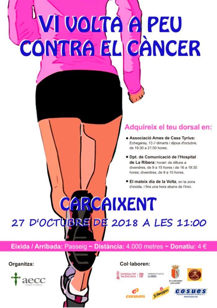 Carcaixent presenta la VI Volta a Peu contra el Càncer