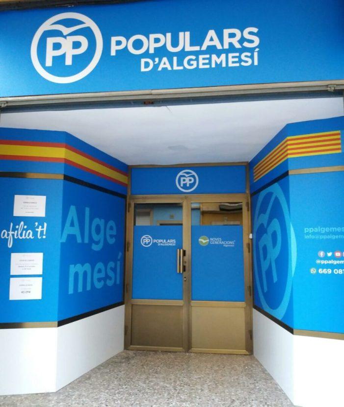 El PP d'Algemesí proposa contractar un servici municipal de repartiment de menjar a domicili a disposició dels hostalers