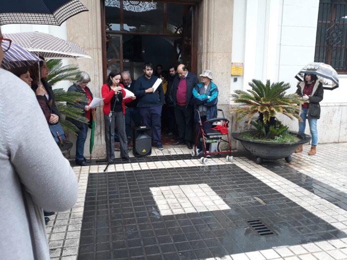 Benetússer participa en la concentració per a reclamar un finançament més just per a la Comunitat Valenciana