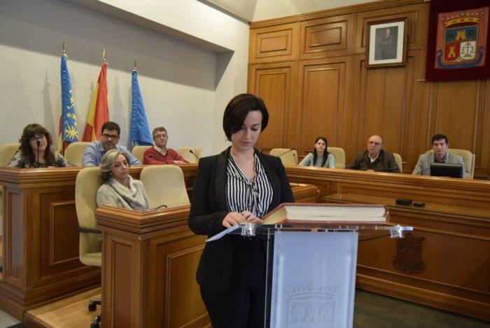 Amparo López, nova regidora de l'Ajuntament de Burjassot