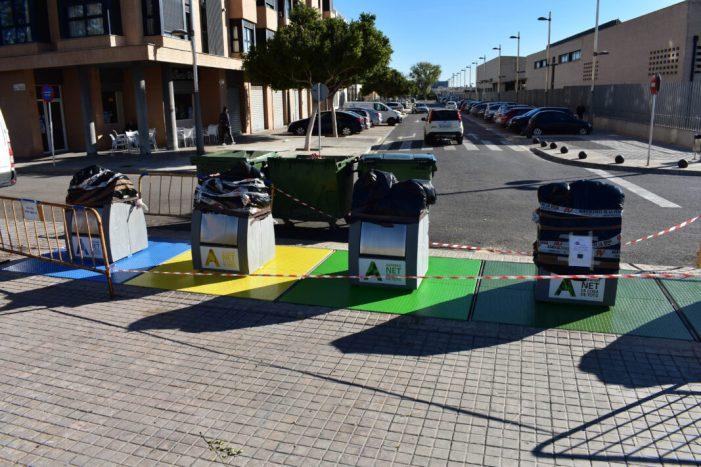 Alfafar continua amb la seua campanya de conscienciació sobre residus