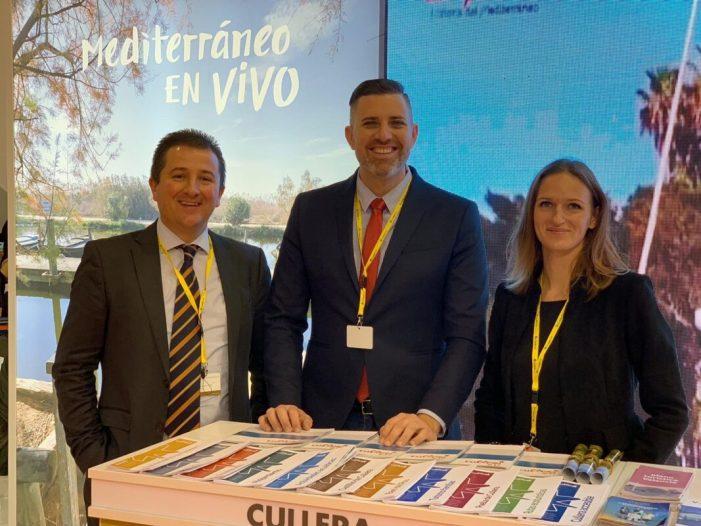 Cullera reforça la promoció turística en el mercat de Castella i Lleó