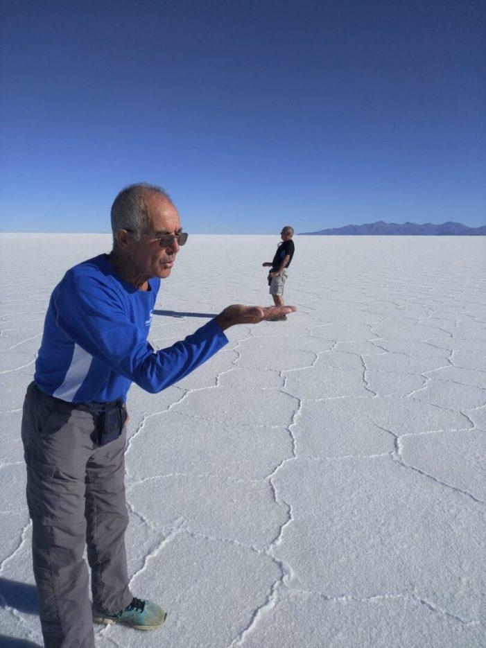 L'almussafeny Ciriaco de la Fuente completa amb èxit la seua segona expedició internacional