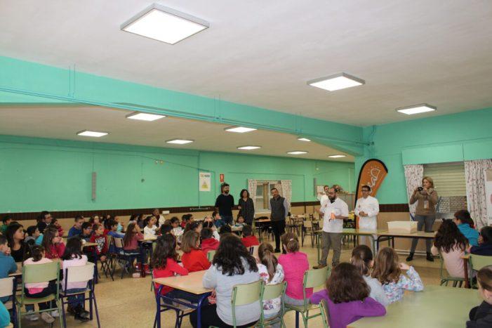 """Aquest matí s'ha iniciat el Projecte: """"d'Alzira, la Reganyà. I a l'escola la tastaràs"""""""