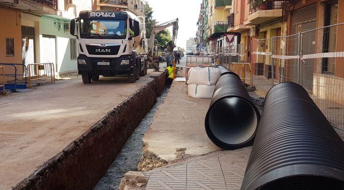 L'Ajuntament de Benifaió inicia les obres de millora urbanística en el carrer Juan José Llorca