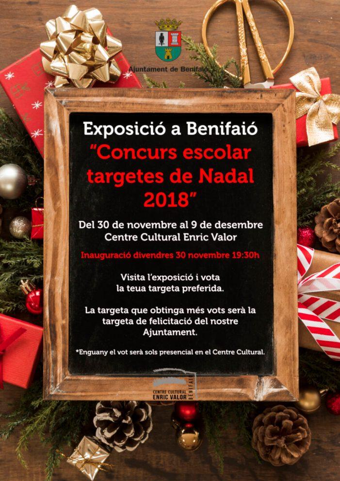 Els veïns de Benifaió triaran de nou per votació popular la targeta nadalenca de l'Ajuntament
