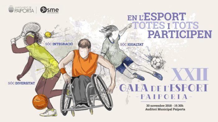 Paiporta celebra l'edició número 22 de la seua Gala de l'Esport aquest divendres