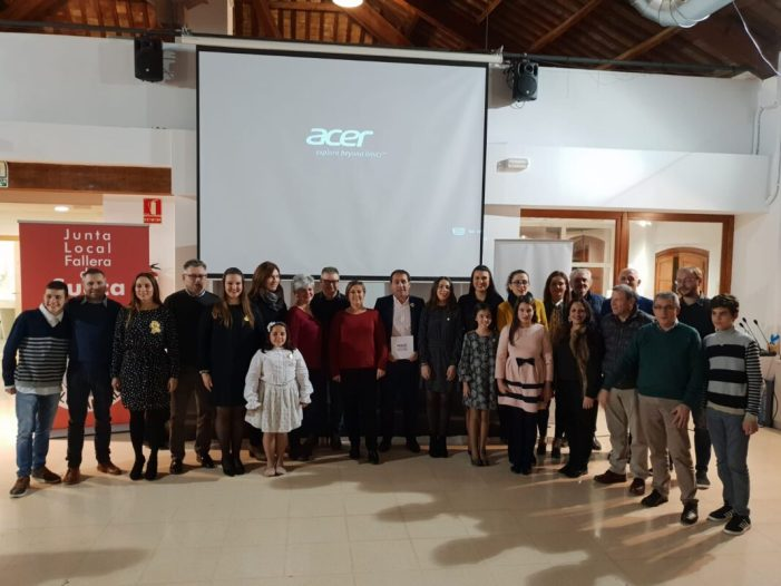 El sainet entra a formar part dels Premis de les Lletres Falleres