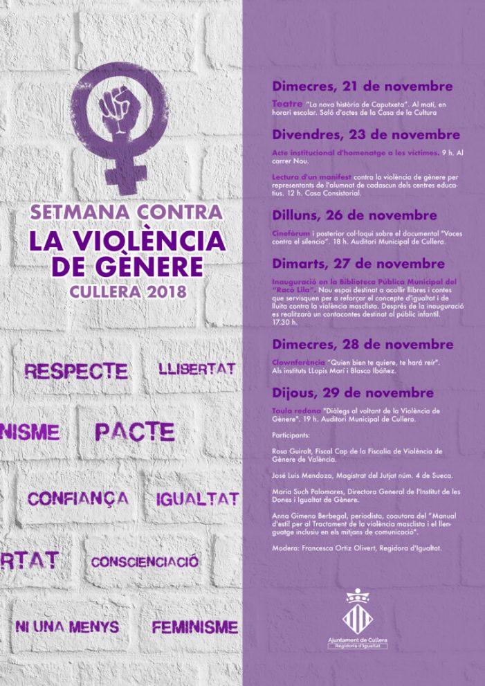 Un 'racó lila' en la biblioteca de Cullera per a lluitar contra la violència masclista