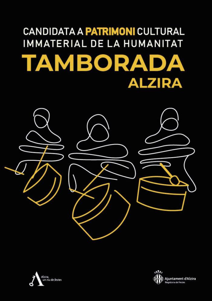 La Tamborada d'Alzira, candidata a Patrimoni Immaterial de la Humanitat