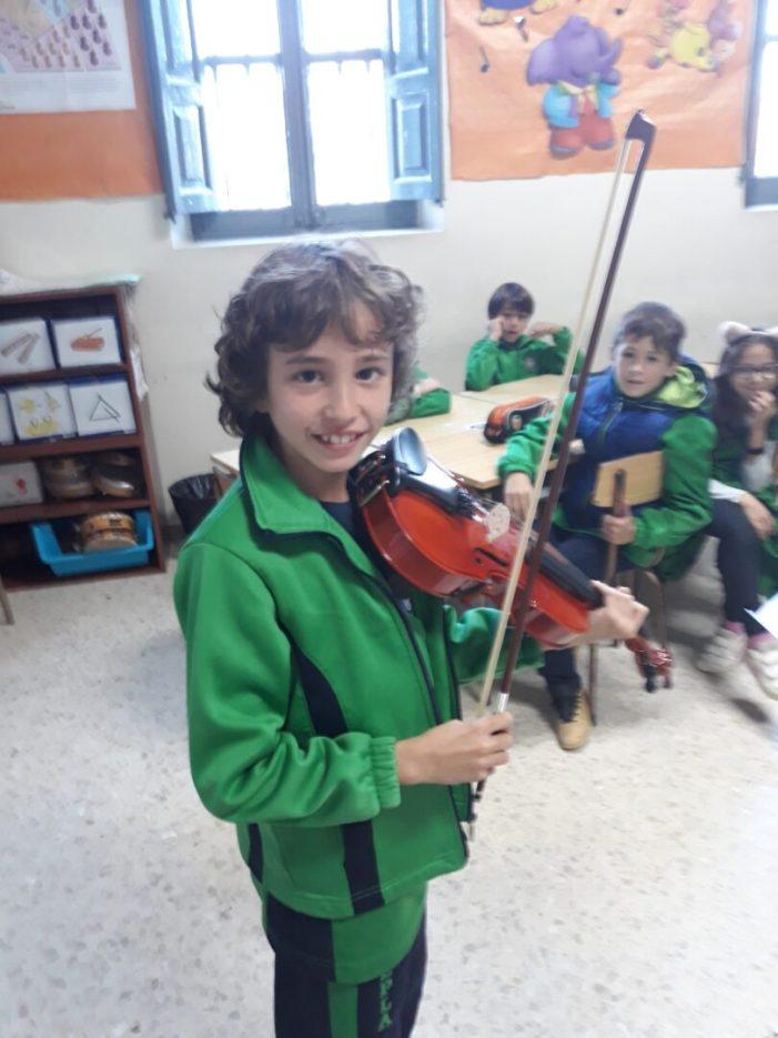 El col·legi EPLA de Godella celebra la Setmana de la Música