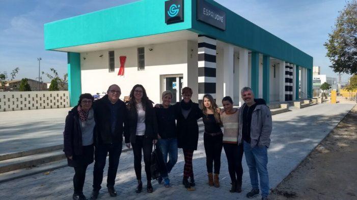 Jesús Martí i Aitana Mes destaquen les experiències de participació juvenil desenvolupades per l'Ajuntament de Silla