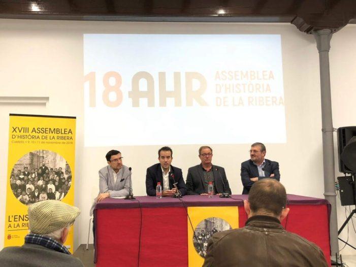 Alberic acollirà la XIX Assemblea d'Història de la Ribera