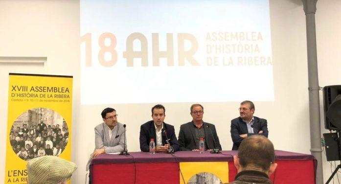 lberic acollirà la XIX Assemblea d'Història de la Ribera