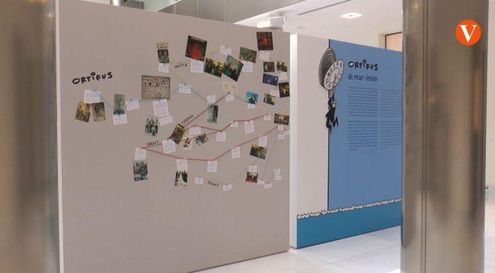 L'edifici del Rellotge de València acull una exposició d'Ortifus