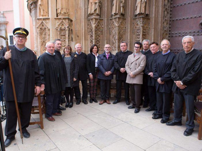 L'alcalde d'Alboraia visita el Tribunal de les Aigües