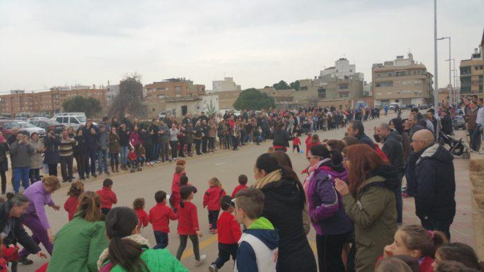 Carrera solidària en el CEIP Trullás de Benifaió