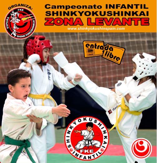 El campionat infantil de Karate a Alzira