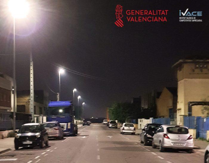 Més llum i més barata per al Polígon Industrial de Xirivella