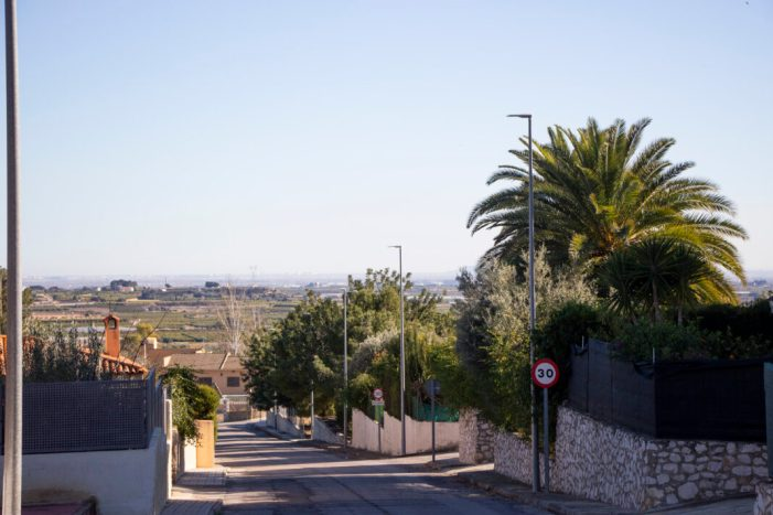 L'Ajuntament de Picassent millora l'enllumenat públic amb el canvi de llums de led en diversos punts
