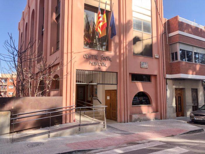 L'Ajuntament de Picassent porta a terme obres d'accessibilitat i adequació al Centre Social de Carles Albors