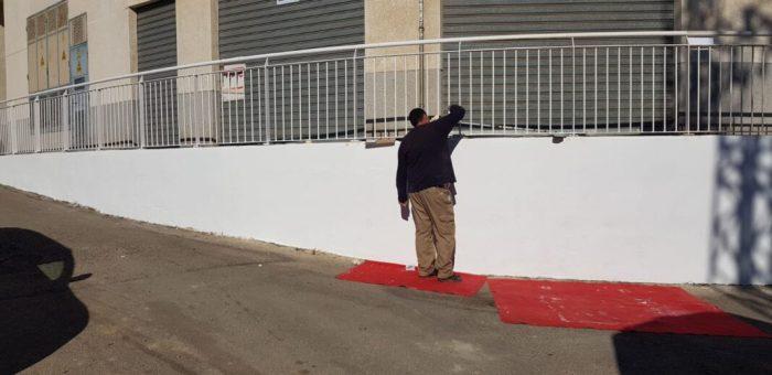 La brigada municipal de Picassent realitza treballs de millora en diversos punts del municipi