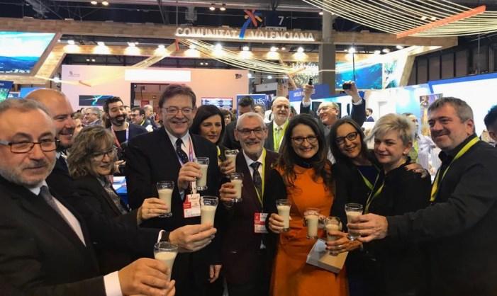 Alboraia celebra amb orxata el dia de la Comunitat Valenciana a FITUR