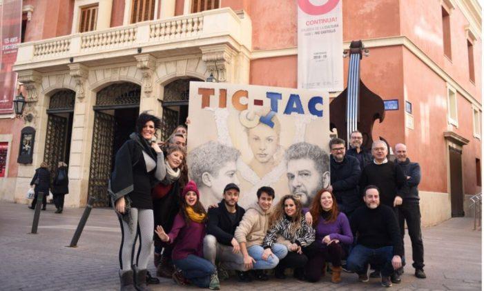 El musical 'Tic-tac', guardonat als Premis Max, torna a Castelló per a tots els públics