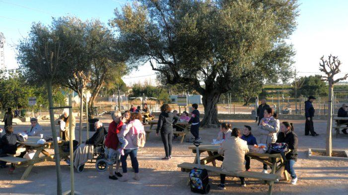 """El parc """"Les Garroferes de l'Omet"""", de Picassent un nou lloc per disfrutar de la natura"""