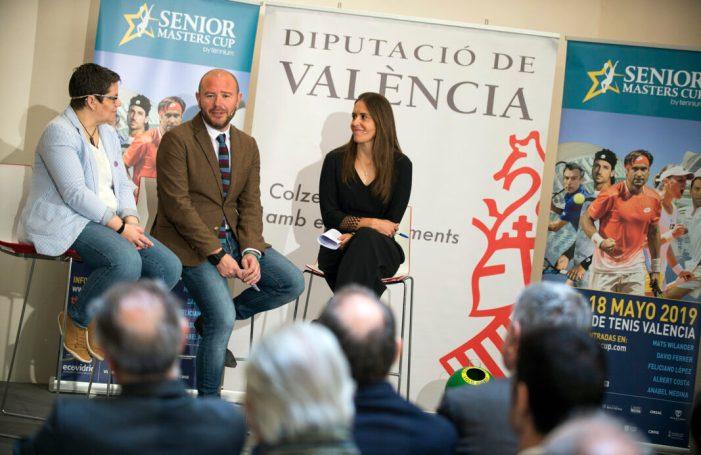 València s'estrena com a seu del Sènior Masters Cup de tennis amb Wilander, Ferrer, Feliciano i Costa